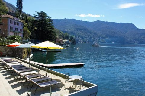 Central holiday apartment with  Heating in Lake como