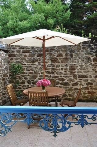 Apartment Saint-Malo rochebonne  beach w. patio