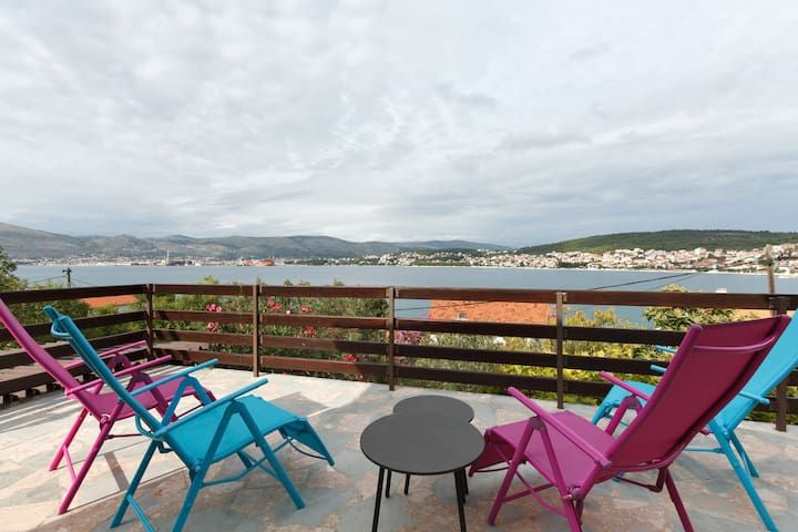 Apartment 30 m from the sea Trogir