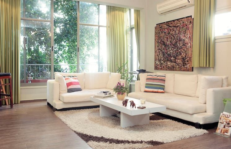 Bright Trendy Room in Great Area