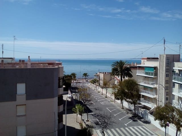 Apartment two minutes from the beach