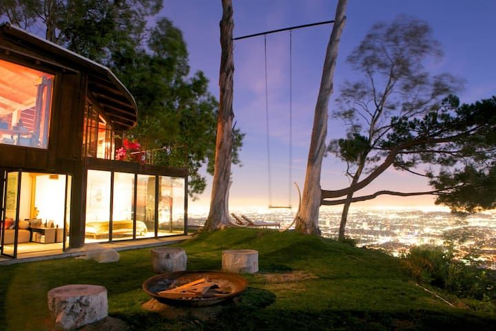 Tree house with 360 views of L.A - Una Habitación Villa, Capacidad 3