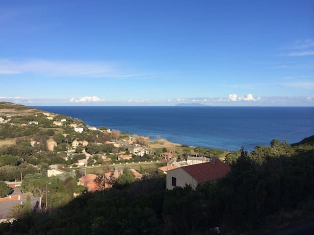 F3 nine Sisco Cap Corse superb sea and mountain views
