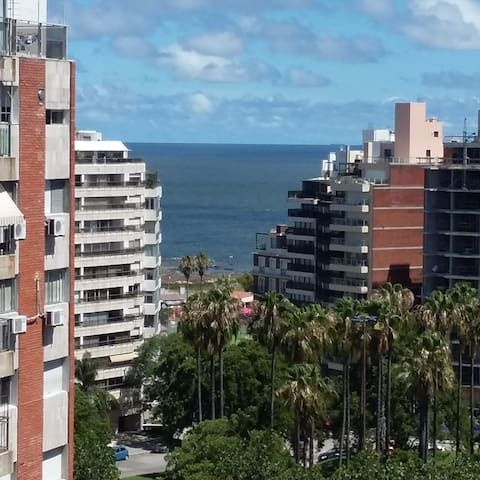 Panorama Ferienunterkunft in Montevideo