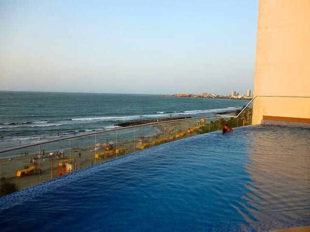 Modern Penthouse + View in Cartagena