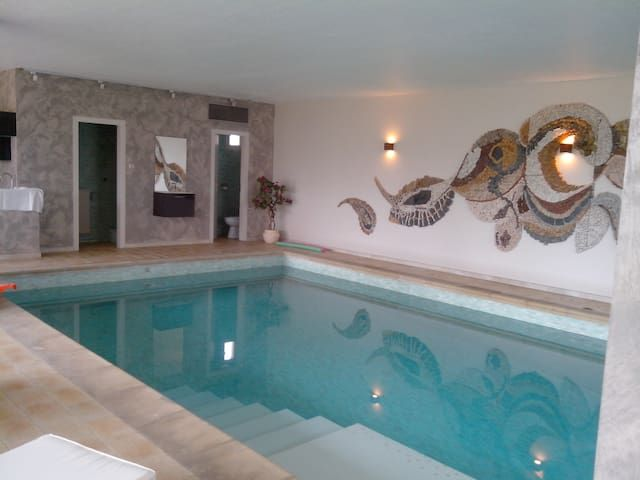BREDEL HOUSE-3rooms-6pers-pool-wifi