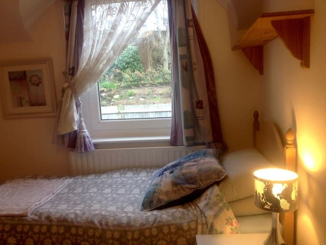 Quiet single room in old town house