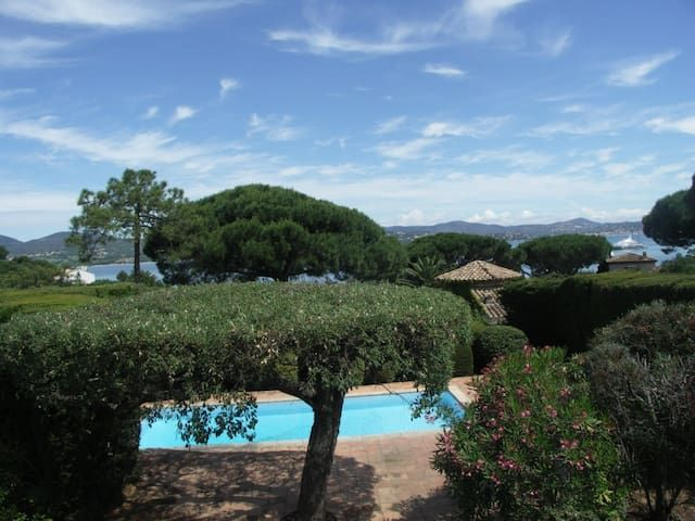House, swimming pool / St Tropez