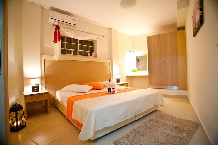 Spacious 80 Sqm Apartment For 4 Persons