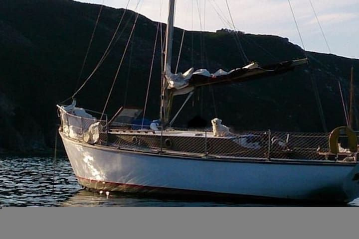 Port Torredembarra - Classic wooden sailing yacht