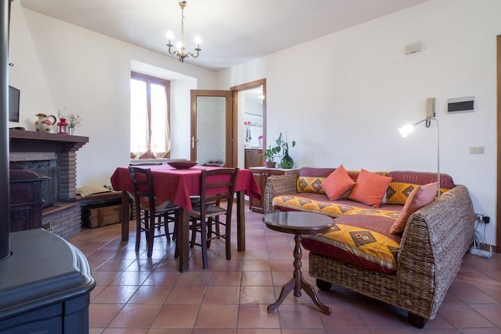 Central, welcoming and functional for the holidays in Norcia and surroundings