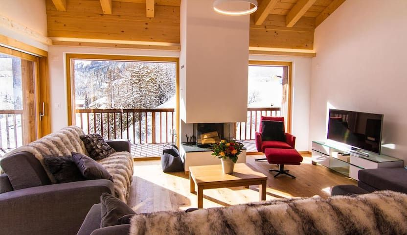 Residencia en Grimentz con parking incluído