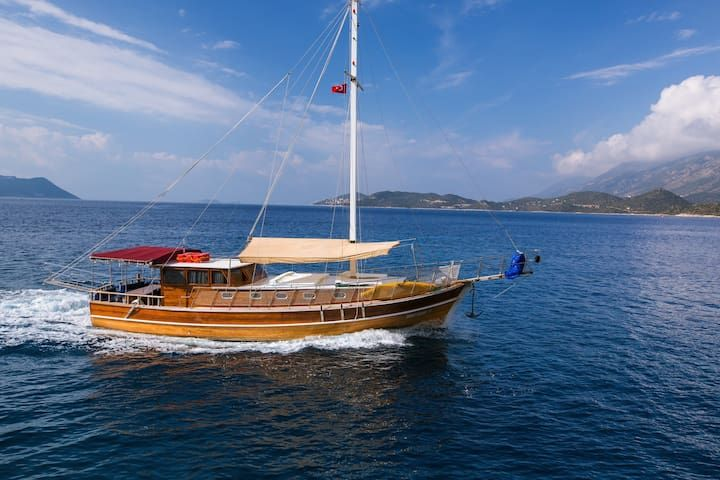 Exclusive Crewed Yacht Charters in Kas