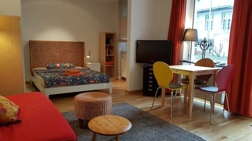 1 1/2 room apartment with terrace