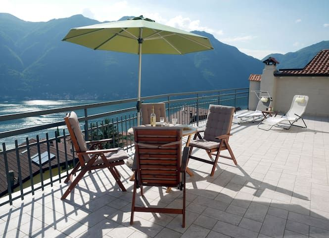 Casa la Perla with spectacular lake Como view