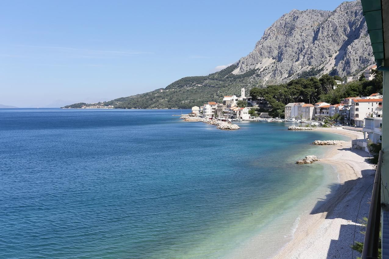 Two bedroom apartment near beach Drašnice, Makarska (A-2644-a)