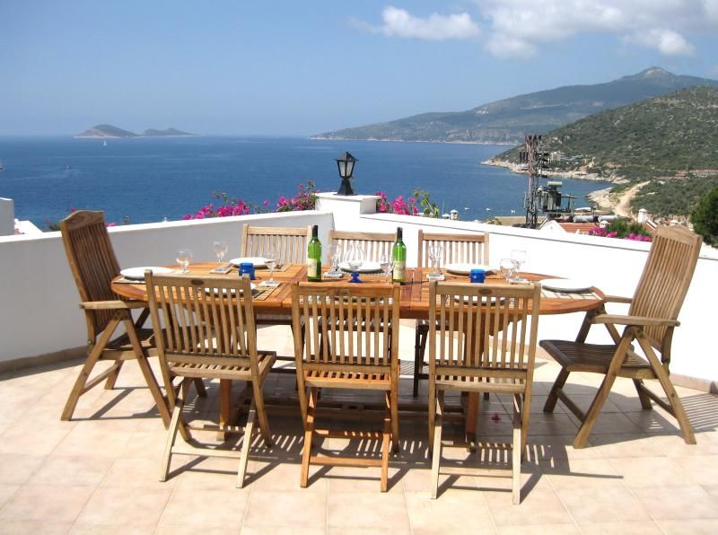 Villa in Kalkan Old Town with pool