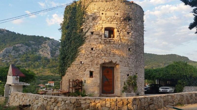 Old tower, Hvar historical center