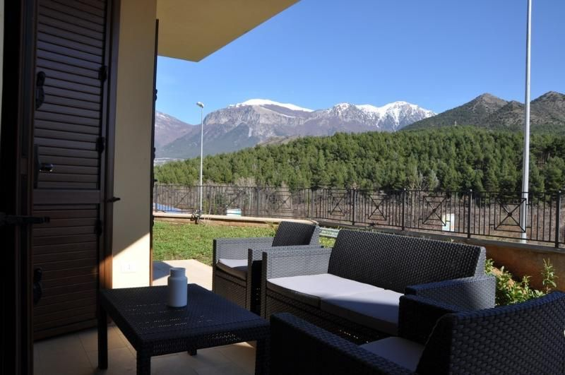 Flat with garden on Pollino national park