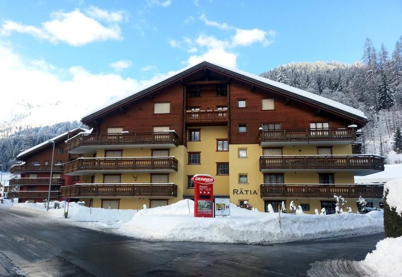 Ski Apartment To Rent: Haus Rätia, Klosters Platz