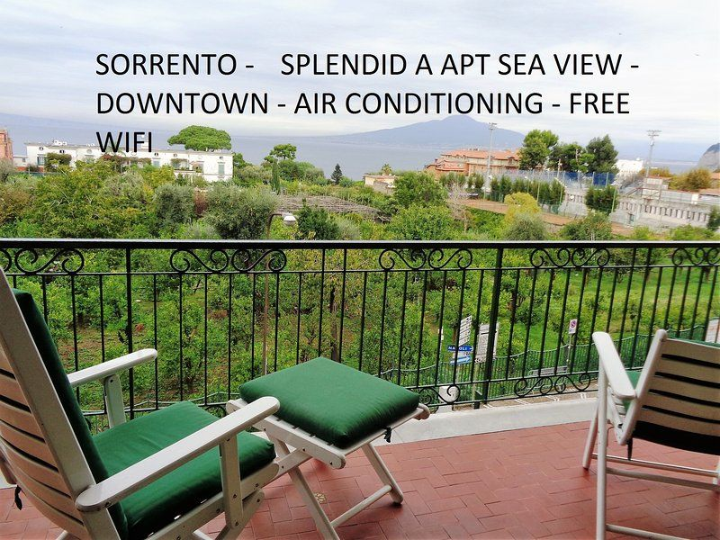 splendid (A) central apt seaview freeWiFi for 6 p