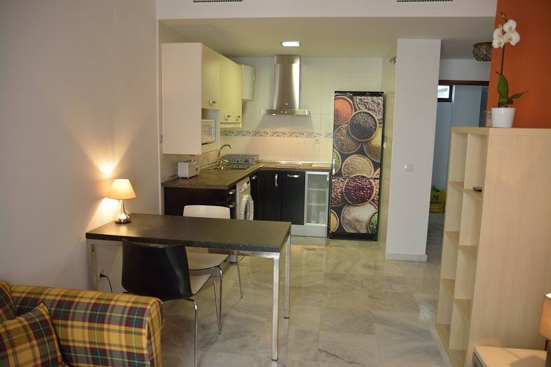 Vivienda atractiva de 1 habitación