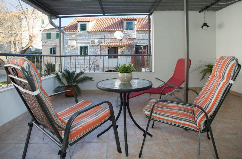 Studio Appartement mit Terrasse Split (AS-11690-a)