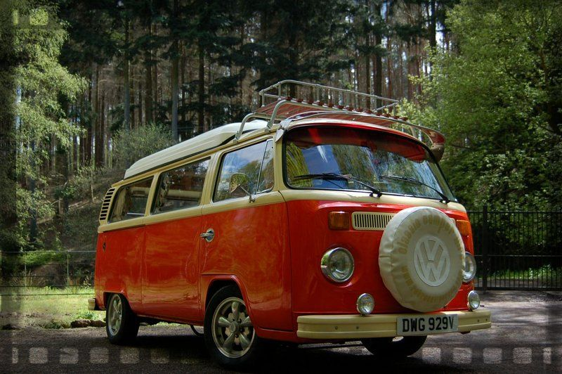 RetroCampervan Classic VW Hire