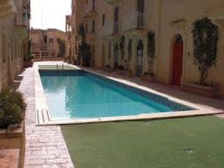 Apartment with large pool in  Ghajnsielem Gozo
