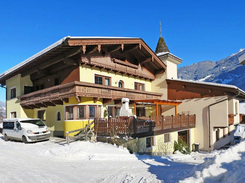 Apartamento con parking incluído en Mayrhofen