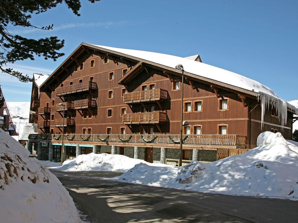 Ausgestattetes Apartment in Les arcs 2000